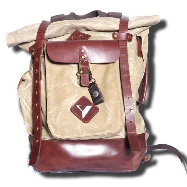 image backpack oasis waxed cotton